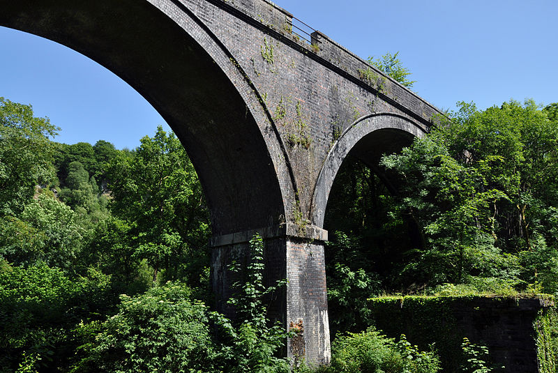 Photo of Cann Viaduct from below
