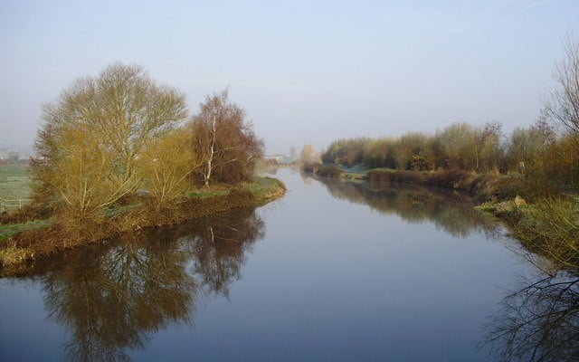 Photo of the Exeter Ship Canal at Countess Wear