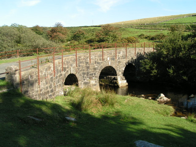 Disused bridge at Merrivale by Brett Sutherland