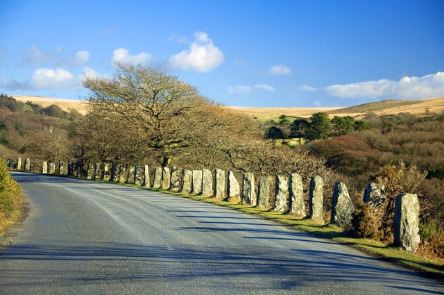 Road to Burrator by Mick Lobb