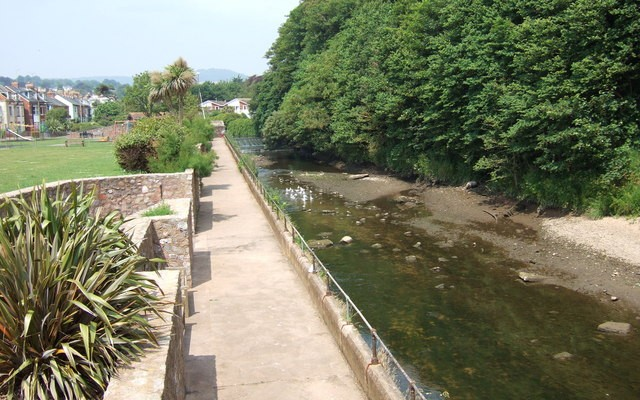 Photo of the River Sid at Sidmouth