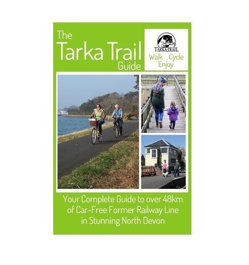 Image of the front cover of the Tarka Trail guide