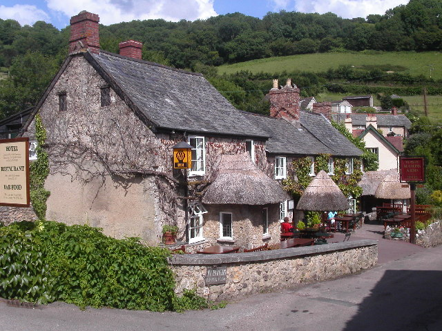"Masons Arms, Branscombe, Copyright ""Patricia"""