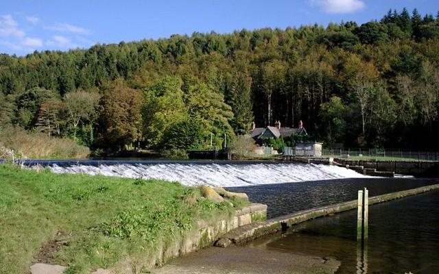 Photo of Lopwell dam