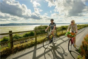 Exe Estuary Cycle Trail Copyright Travel Devon