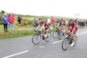 Tour of Britain at Haytor: Copyright Devon County Council