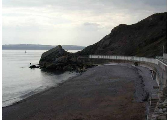 Photo of the beach at Daddy Hole Plain, Torquay