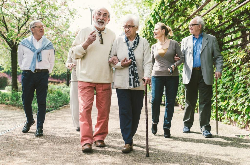 Age UK May National Walking Month 2017