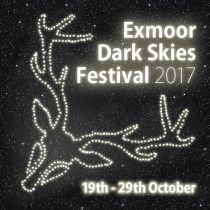 Image of the Exmoor Dark Skies Festival 2017 logo