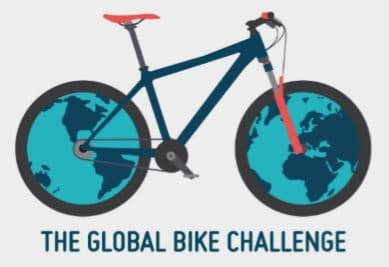 Image of the Global Bike Challenge logo