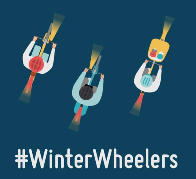 Small image of the Winter Wheelers logo